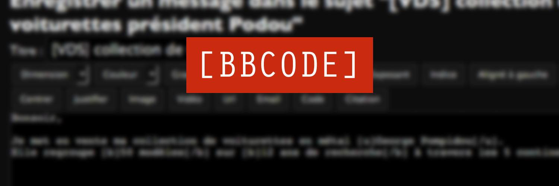 Image de l'article Editeur BBCode PHP Léger et Gratuit