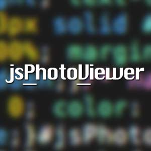 vignette de l'article jsPhotoViewer diaporama javascript facile